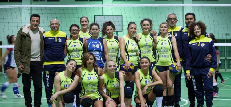 VOLLEY FEMMINILE: DEBUTTO STAGIONALE AMARO PER L'ASD TRAINING AND RELAX