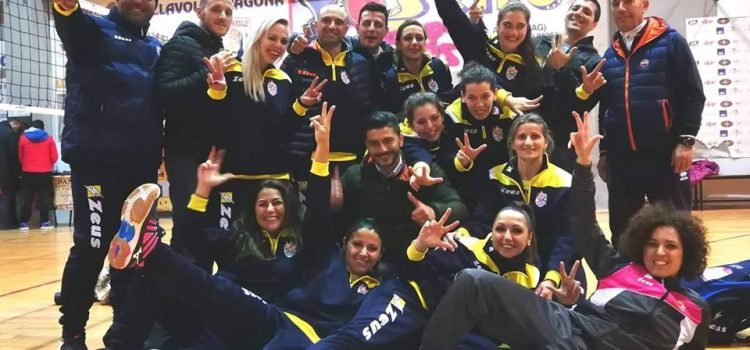 VOLLEY FEMMINILE: ASD TRAINING AND RELAX BRINDA ALLA PRIMA VITTORIA STAGIONALE