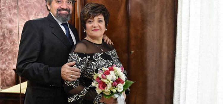Antonella e Franco, 25 anni insieme