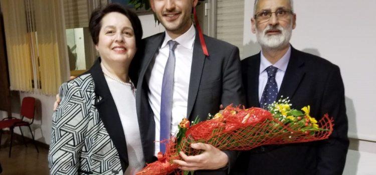 Tanti auguri a Domenico Maria Miliziano che ha conseguito la Laurea magistrale in ingegneria gestionale