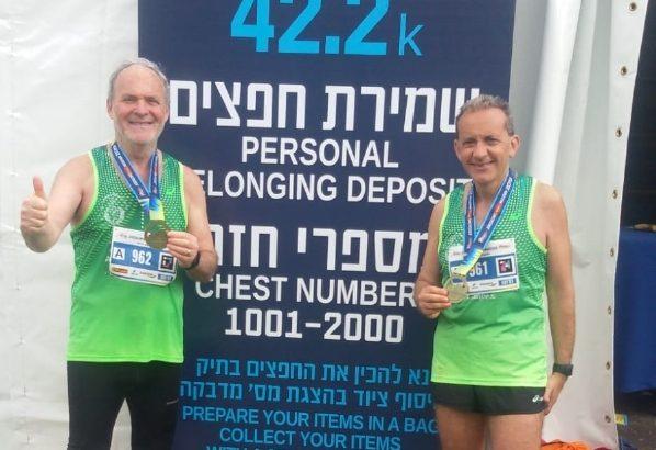 Maratona di Gerusalemme 2019. In gara anche i cattolicesi Angelo Zarelli e Nino Aquilino
