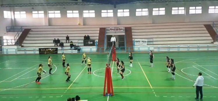 VOLLEY FEMMINILE. TURNO CASALINGO PER ASD TRAINING AND RELAX CONTRO JUNIOR SAN CATALDO