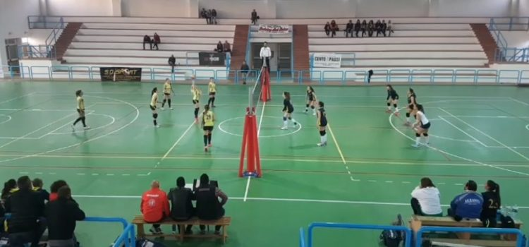 VOLLEY FEMMINILE UNA SUPERBA ASD TRAINING AND RELAX PIEGA LA JUNIOR SAN CATALDO