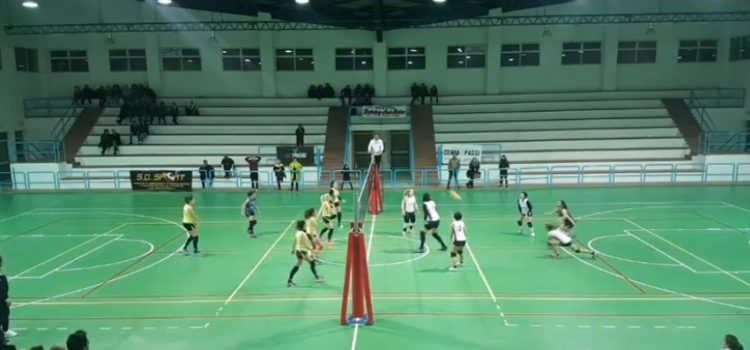 Volley Femminile.  Sconfitta a testa alta per Asd Training and Relax
