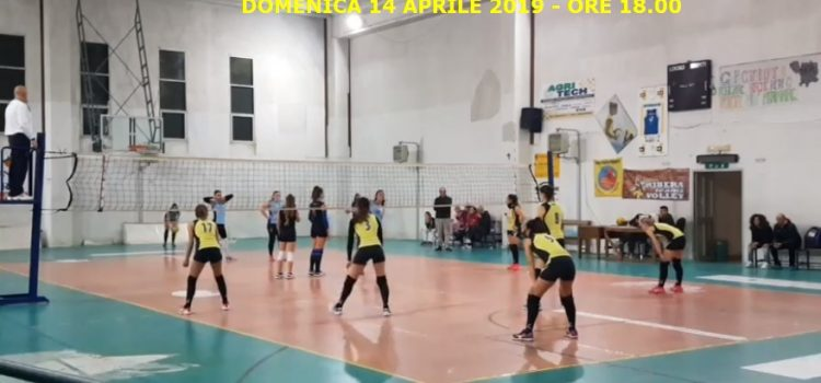 VOLLEY FEMMINILE. ULTIMA DI CAMPIONATO PER ASD TRAINING AND RELAX CONTRO IL RIBERA VOLLEY