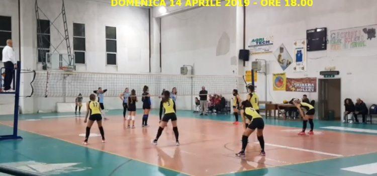 VOLLEY FEMMINILE. ULTIMA DI CAMPIONATO PER ASD TRAINING AND RELAX CONTRO IL RIBERA VOLLEY