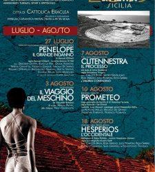 Teatri di Pietra a Eraclea Minoa. Il programma