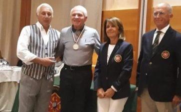 Golf: il cattolicese Santo Spagnolo conquista il primo posto ai campionati nazionali AGIS