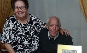 Sessant'anni di amore. Tanti auguri a Maria e Vincenzo Raneli