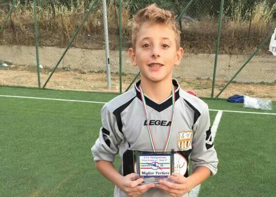 Calcio giovanile: Il portierino cattolicese Antonino Santalucia selezionato per partecipare al Parma Day Academy