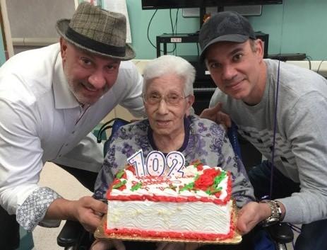 Nonna Giuseppina compie 102 anni