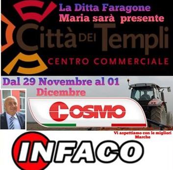 La ditta Faragone Maria  miglior rivenditore d'Italia Cosmo
