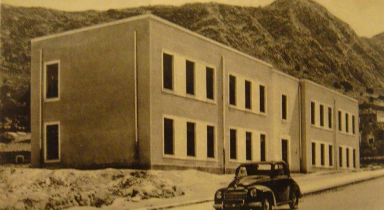 COME ERAVAMO. L'edificio della scuola elementare Via Oreto negli anni 50