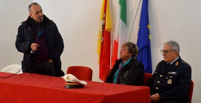 Polizia Municipale, il comandante Pasquale Campisi in pensione dopo 42 anni di servizio