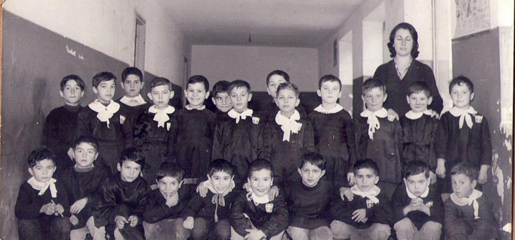 Ricordo anno scolastico 1963-1964. Insegnante Miliziano