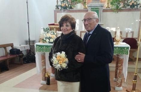 Nozze d'oro per i coniugi Antonio Felice e Rosalia Renda